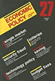 img - for Economic Policy 27 book / textbook / text book
