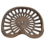 Solid cast iron Tractor seat antique reproduction