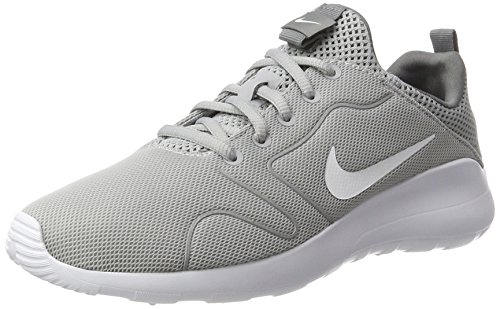 Nike Women's Kaishi 2.0 Wolf Grey/White/Cool Grey Running Shoe 9 Women US