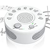 [2018 New] White Noise Machine,Sound Therapy Machine 9 Natural Smoothing and Relaxing Sounds,Covers Noise for Improved Concentration,Perfect for Baby,Sleep Disorder,Insomnia &Tinnitus Sufferers.