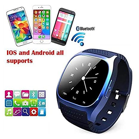 Amazon.com: YIGEYI Latest multilinggual Bluetooth Smart Watch reloj inteligente Fashion for Phone xiaomi Huawei. The Perfect one for You (Color : Black): ...