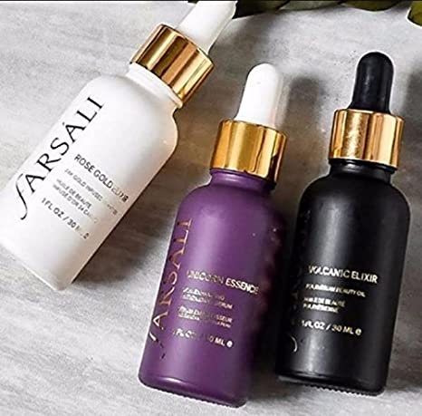 618d54e053b Buy girraj store Rose Gold Elixir, Unicorn Tears and Volcanic Elixir Farsali  Serum(Set of 3) Online at Low Prices in India - Amazon.in