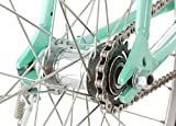 Vilano Womens Classic Urban Commuter Single Speed Bike Fixie Style City Mint Pearl Road Bicycle