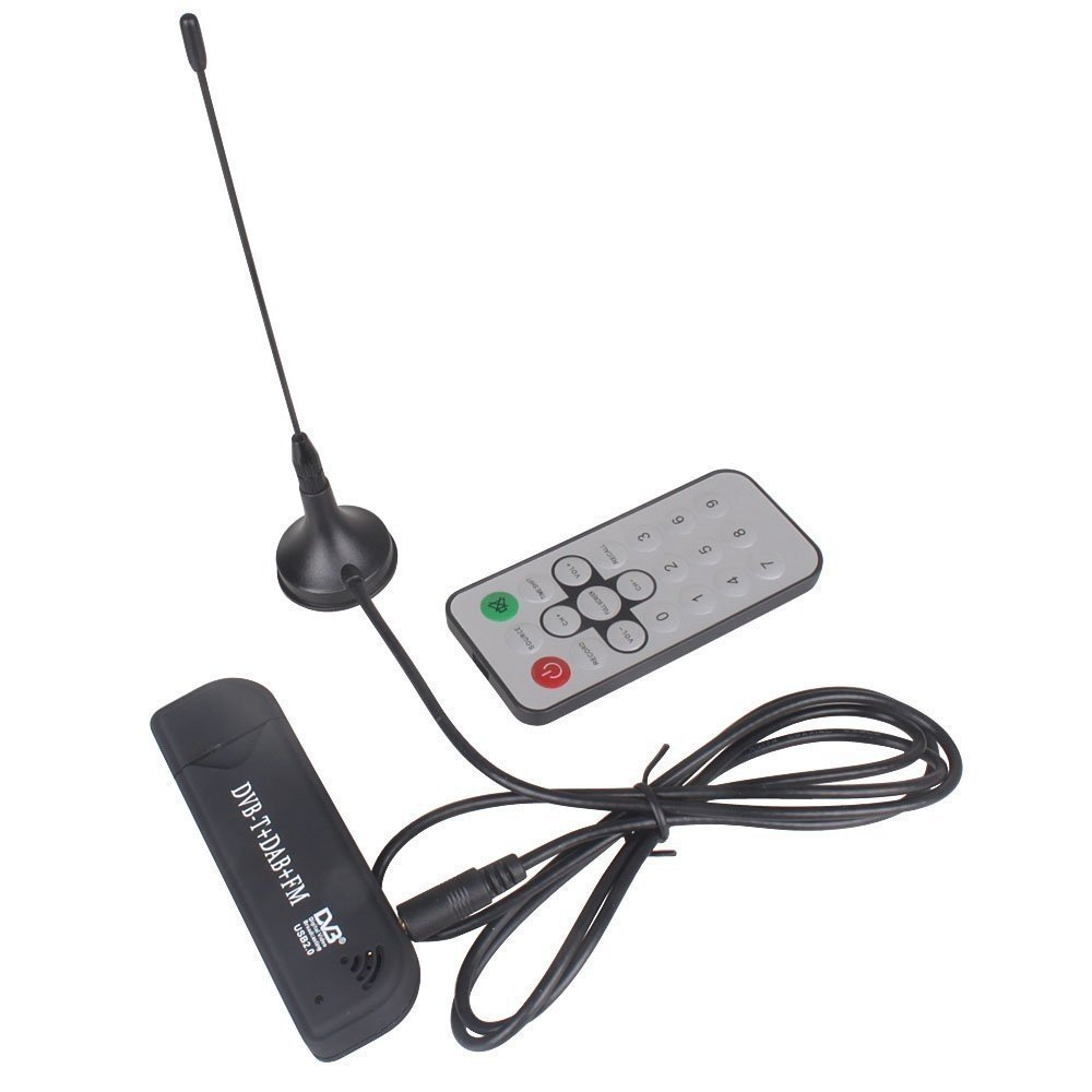 RioRand DVB-T USB Receiver & Low-Cost Software Defined Radio (SDR) - Realtek RTL2832U + Elonics FC0013-Based