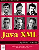 img - for Java XML Programmer's Reference by Eric Jung (2001-07-02) book / textbook / text book