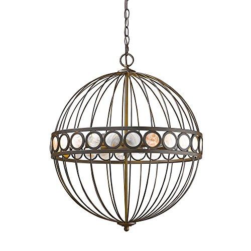 Acclaim Lighting IN11106ORB Aria Indoor 6-Light Pendant, Oil Rubbed -