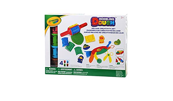 Crayola Modelado masa Deluxe - Juego de creatividad: Amazon.es ...
