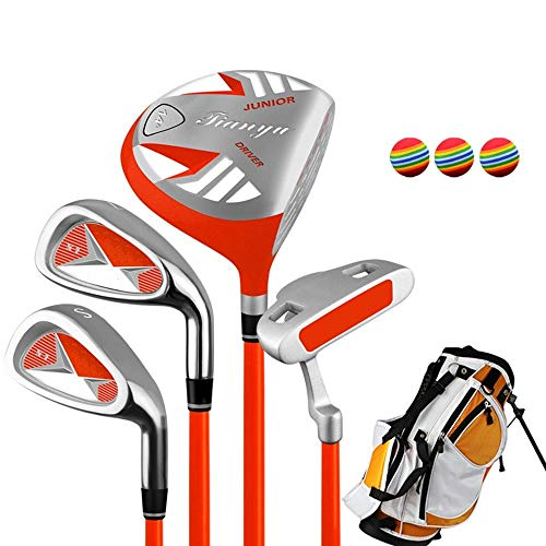 Golf Practice Putter Kids Golf Beginner Golf Club Set Golf Putter Practice Club Set for 3-12 Years Old Children,Children's Right Hand Used Golf Club Set for Boys and Girls with - Alloy Tool O1