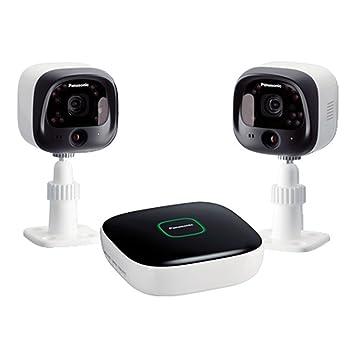 Panasonic KX-HN6002EW optionvalue perímetro 4 canal 2 cámaras de vigilancia