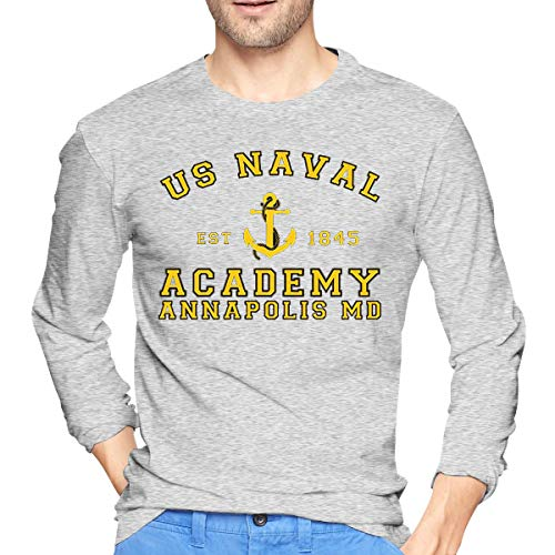 Monicame Mens US Naval Academy Fashion Long Sleeve Shirt S - Academy Desk Lamp