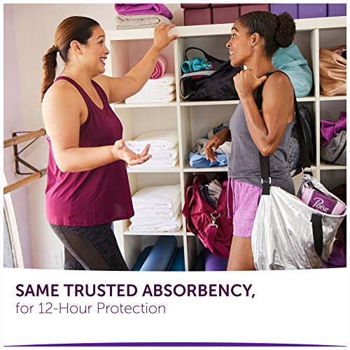 Poise Incontinence Pads, Ultimate Absorbency, Regular Length, 132 Count (4 Packs of 33) (Packaging May Vary)