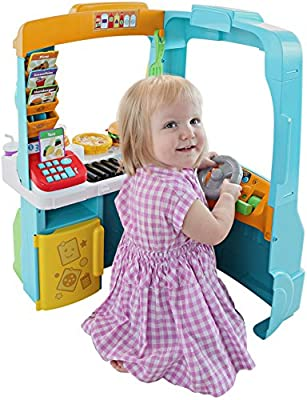 Fisher-Price Laugh & Learn Servin' Up Fun Food Truck by Fisher Price