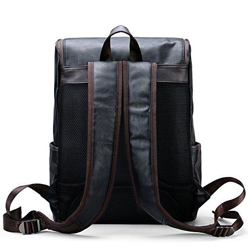 Meoaeo Herren Freizeit Business Bag Borsa A Tracolla Doppia Moda Computer Bag