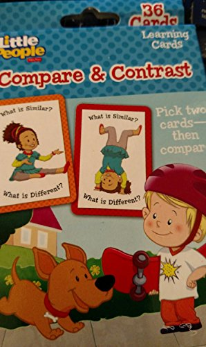 Fisher Price Little People Compare & Contrast 36 Flash - Store Cards Compare