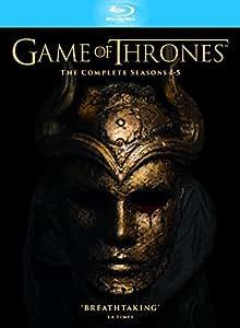 Game of Thrones - Season 1-5 (Slimline Packaging) [Blu-ray] [Region Free]