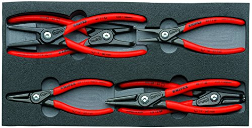 Knipex 00 20 01 V02 Circlip Snap-Ring Pliers Set (6 ()