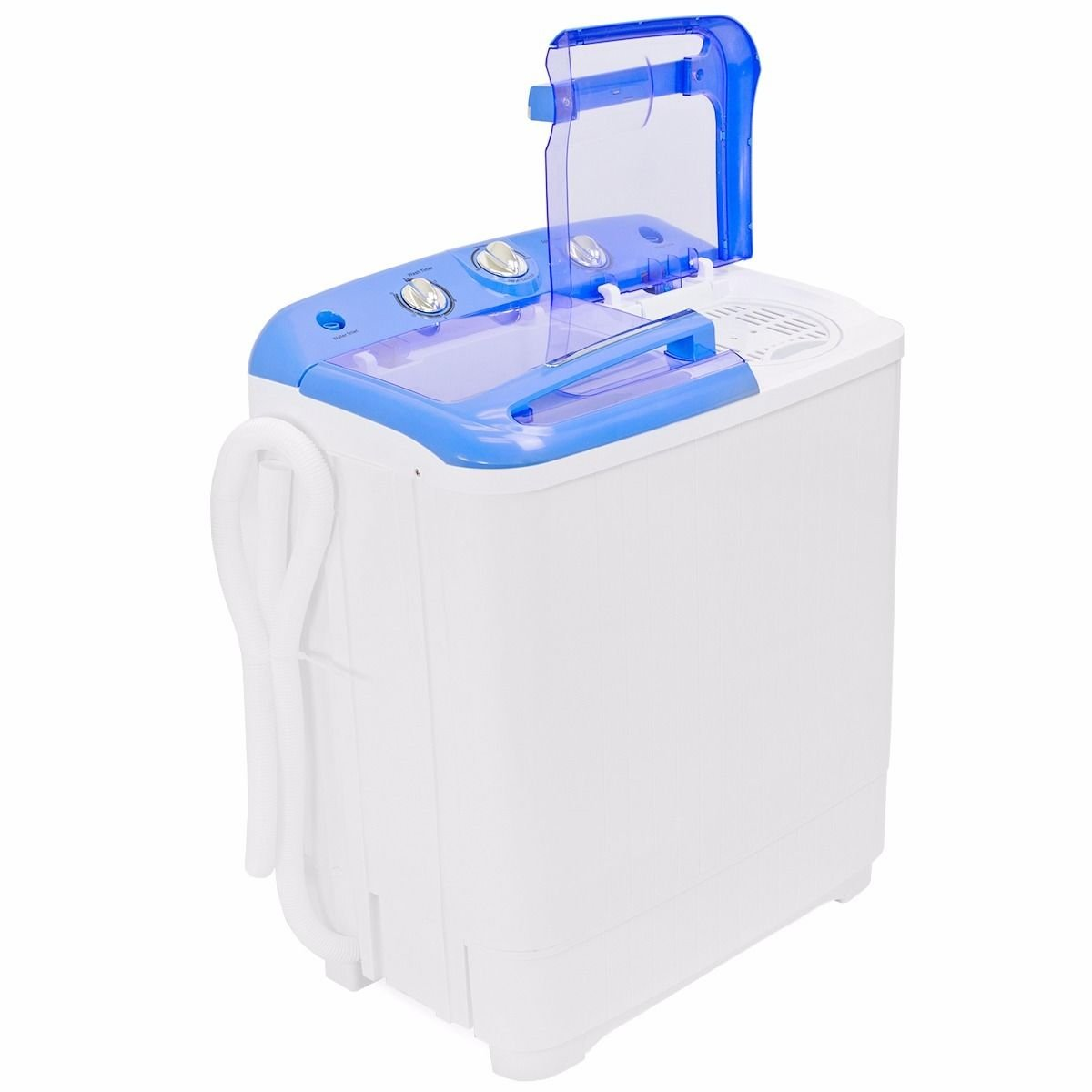 Gracelove Portable Mini Washer Dorm RV Cycle Compact 9 lbs Wash Dry Spin Machine Laundry by Love+Grace (Image #4)