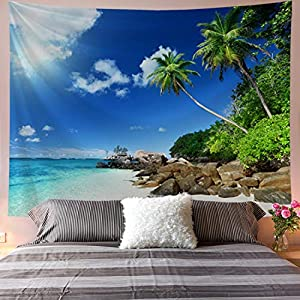 516jQ9WcN4L._SS300_ Beach Tapestries & Coastal Tapestries
