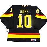 Pavel Bure Vancouver Canucks 1994 black skate jersey CCM