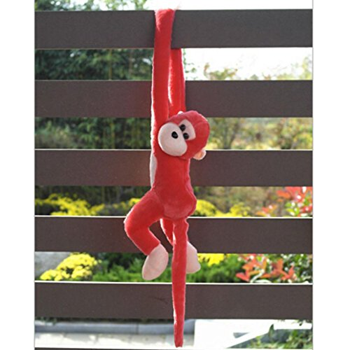 Leegor Cute Screech Monkey Plush Toy Doll Doll Gibbons Kids Gift Christmas Gift (Monkey Kit With Sound)