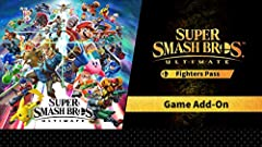Purchase the Super Smash Bros. Ultimate + Super Smash Bros. Fighter Pass Bundle to own the digital version of the game and the Super Smash Bros. Ultimate Fighter Pass.  This bundle includes the following downloadable content: Super Sm...