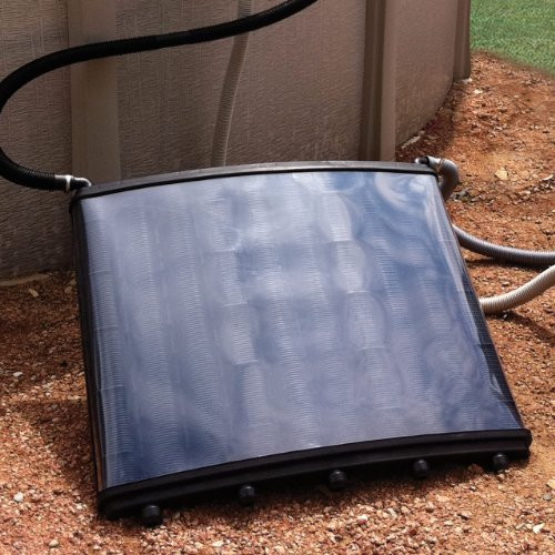 Doheny s solar grid pool heating solar panels community for Inground pool greenhouse