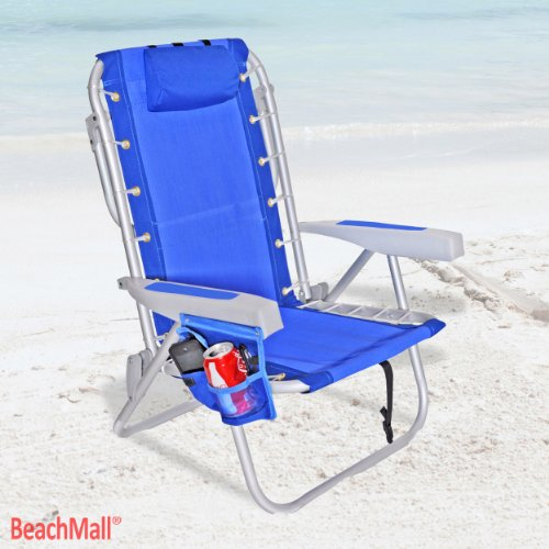 Ultimate Backpack Beach Chair with Cooler - LayFlat 5 positi