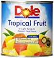 Dole Canned Fruit, Mixed Tropical Fruit In Passion Fruit Nectar, 15.25 oz