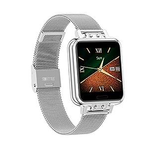 Aliwisdom Smartwatch per uomo donna bambini, 1,22'' Smartwatch sportivo Fitness Tracker impermeabile orologio fitness… 13