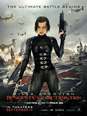 Amazon Com Resident Evil Retribution Poster 11 X 17 28cm X