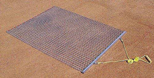 - Trigon Sports Steel Drag Mat, 6 x 6-Feet