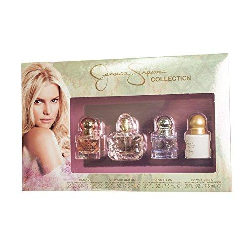 JESSICA SIMPSON 4 Piece Eau de Parfum Spray Coffret Set for Women