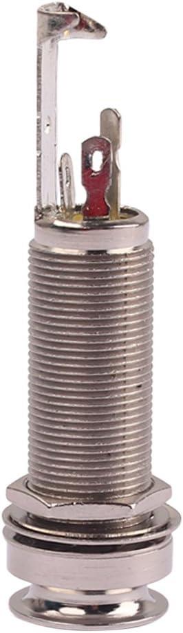 GT223 Guitar End Pin EndPin Stereo Jack Socket Bass Guitar Mandolin Parts
