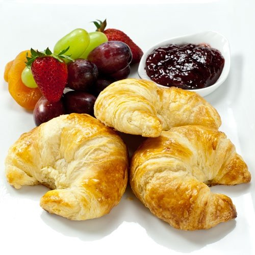 100% Butter French Croissants - 3.5 oz, Frozen, Unbaked - 1 dozen - 12 count