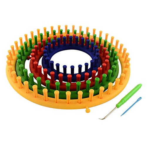 Pandahall Plastic Knitting Knitter Needle