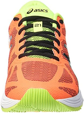 ASICS Gel DS Trainer 21 NC Hot Orange Black Flash Yellow