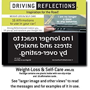 Weight-Loss & Self-Care, affirmations to relieve stress and deepen your spiritual life while you drive! Give a unique gift, under $10, that uplifts with positive, faith-filled affirmations!