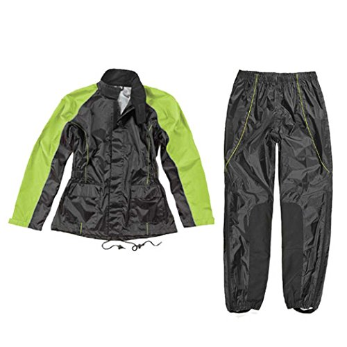 Joe Rocket Women's 2-Piece Street Motorcycle Rain Suit