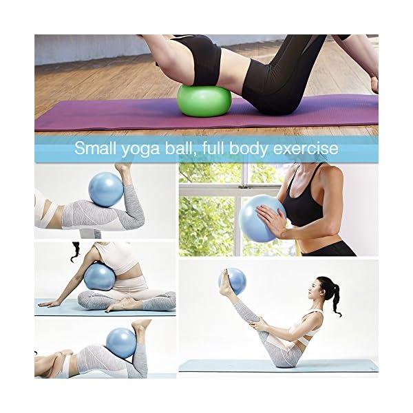 Soft Mini Gym Exercise Ball Bender Yoga Stability Barre Pilates Training