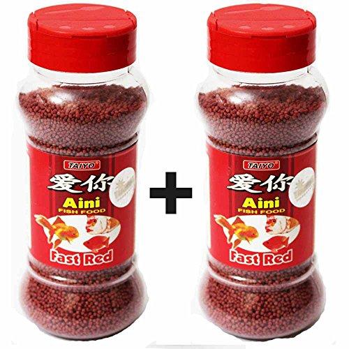 2 pack of Taiyo Aini Fast Growth fish food 100g (B01MSDC259) Amazon Price History, Amazon Price Tracker