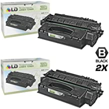 LD Compatible Replacements for HP 49X / Q5949X Set of 2 HY Black Toner Cartridges for HP LaserJet 1320, 1320n, 3390 All-in-One, 1320t, 1320tn, 1320nw, & 3392 All-in-One