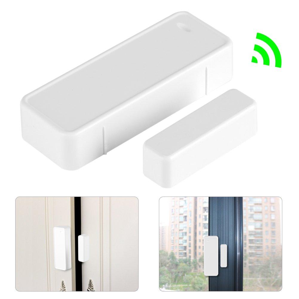 433MHz Door Magnetic Contact Wireless Sensor Detector Switch for Home Garage Alarm Security