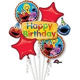 Sesame Street Fun Birthday Bouquet Of Balloons