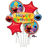 Sesame Street Fun Birthday Bouquet Of Balloons