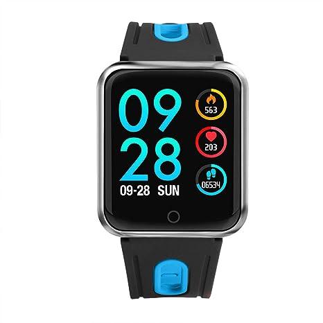Topker P68 Inteligente del Reloj de la presión Arterial Monitor de Ritmo cardíaco podómetro Bluetooth Remoto