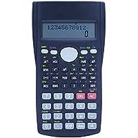 Calculator, Hi-tec Scientific Calculator Student Calculator Multi Function Counter Calculating Machine with 2 Line LCD Display