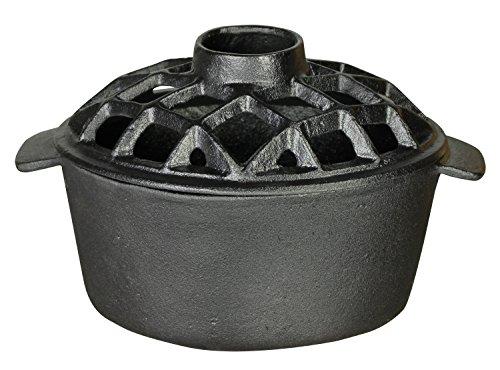 US Stove LS-01 2.2 Qt. Lattice Steamer Flat Black, LS-01 2.2 Qt. Lattice Steamer Flat Black