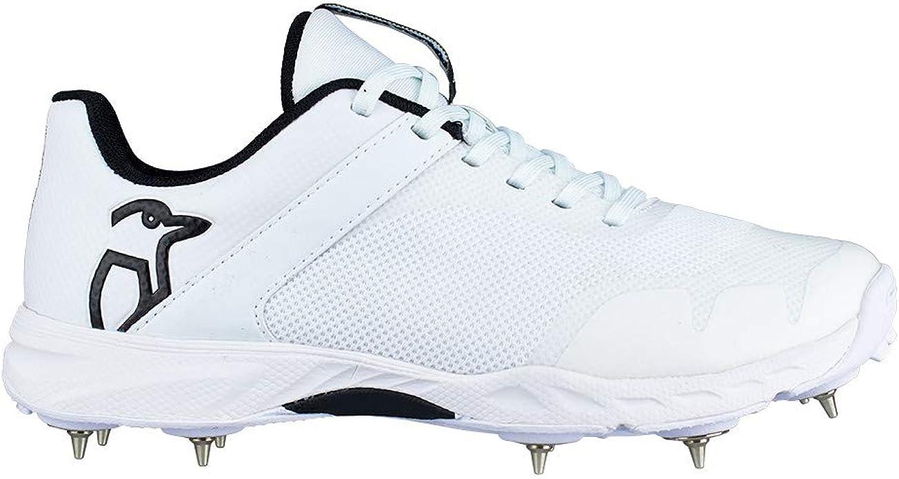 2019  Kookaburra Junior KC 3.0 White Rubber Sole Cricket Shoes Free Postage