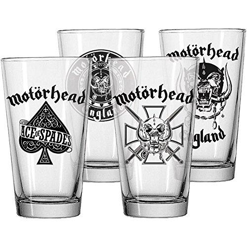 Motorhead - Pub Glass Set
