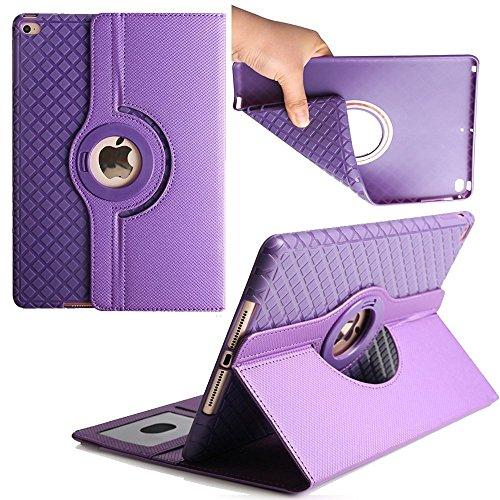 7 9 inch iPad Mini Rotatign Case ,elelcfan 360 Degree Rotating Stand Smart  Screen Protective Case Flip Folio Cover For Apple iPad Mini 1/iPad Mini
